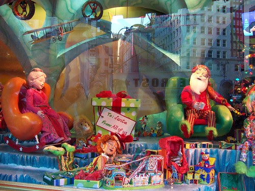 Macy's holiday windows on 6th Ave. (NYC)