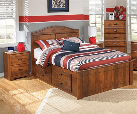 barchan  full size panel bed ashley furniture warm