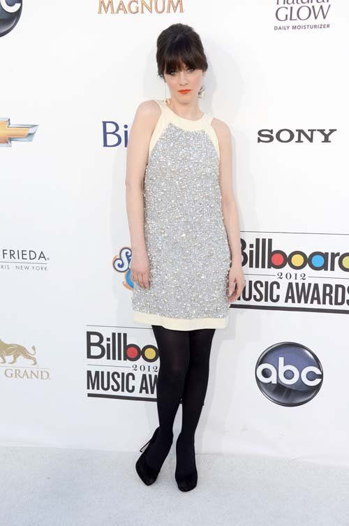Billboard Music Awards - May 20, 2012, Zooey Deschanel