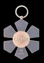 Member - reverse of insignia