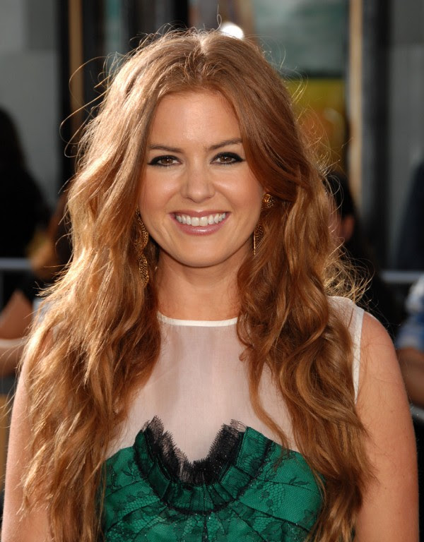 Isla Fisher Redhead Photo