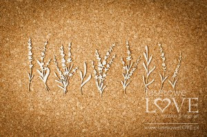 Tekturka - Kwiaty Lawendy - Sweet Lavender