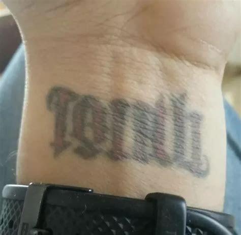 tattoos wrist fade quora
