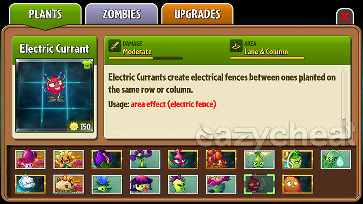 Plants vs. Zombies 2 v5.0.1 NA Version Cheats