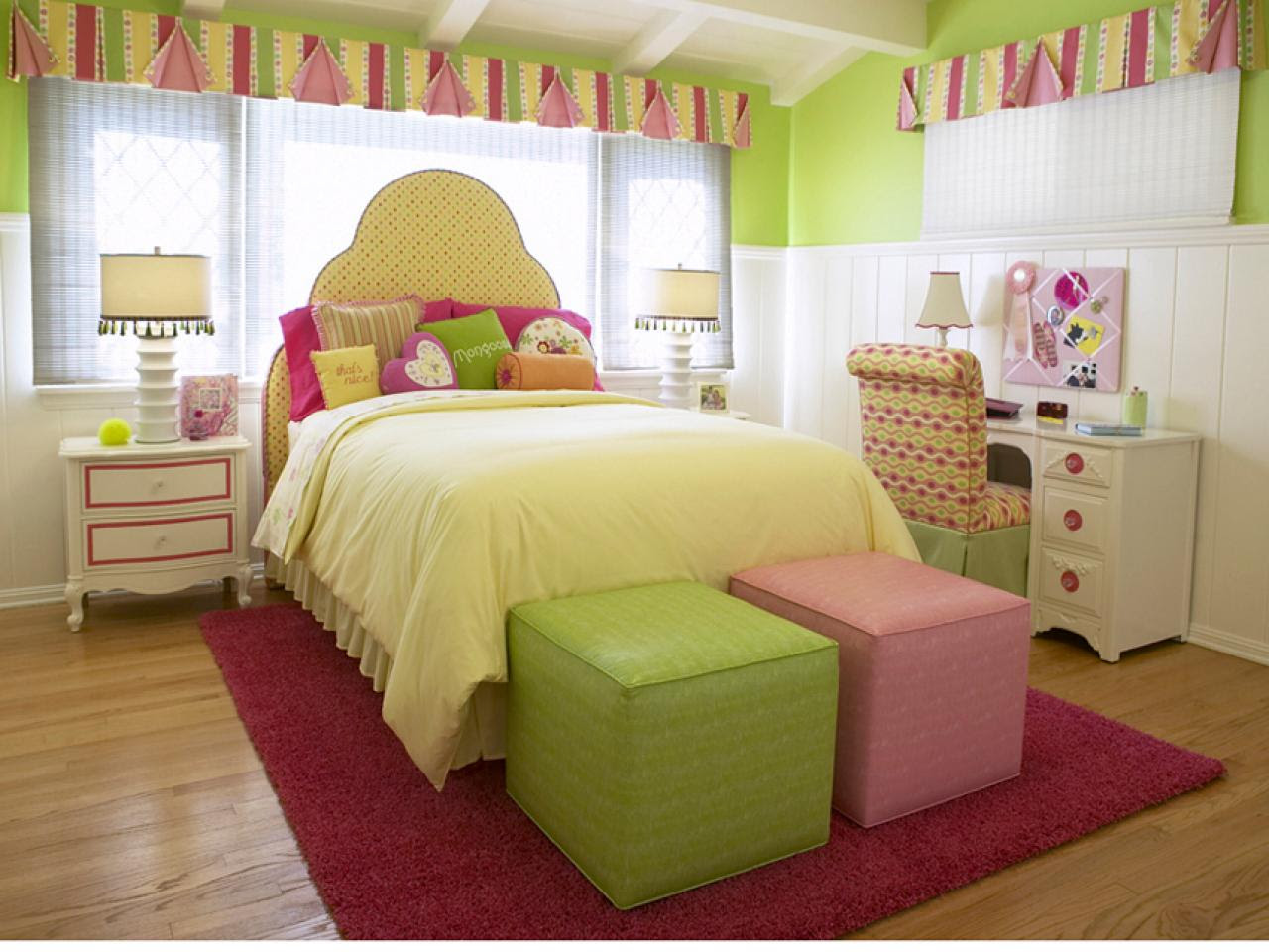 10 Girly Teen Bedrooms  Kids Room Ideas for Playroom, Bedroom, Bathroom  HGTV