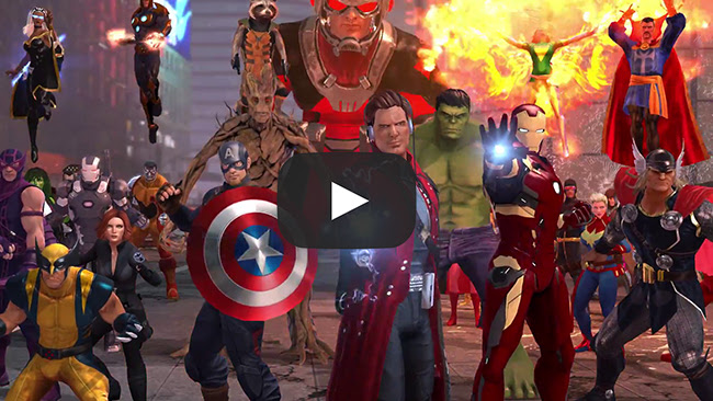 All Games Delta: Marvel Heroes Omega Coming to PS4 and Xbox