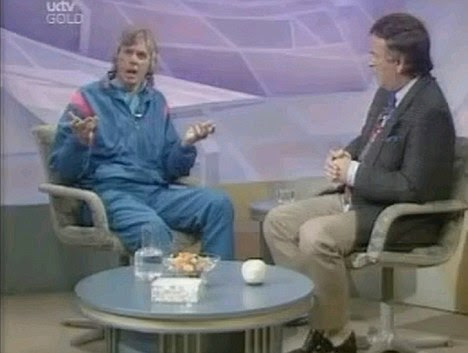 Delusional: Icke makes his extraordinary claim that he was the son of God during an interview on Terry Wogan's chat show in 1991