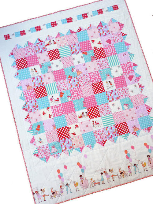 Girls at Play ~ Patchwork Quilt