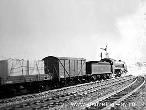 N15 with an up goods train