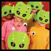 Máscaras Alien Invasion: Máscaras para para niños