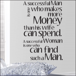 Some People Says Behind Every Successful Man There Is A Woman