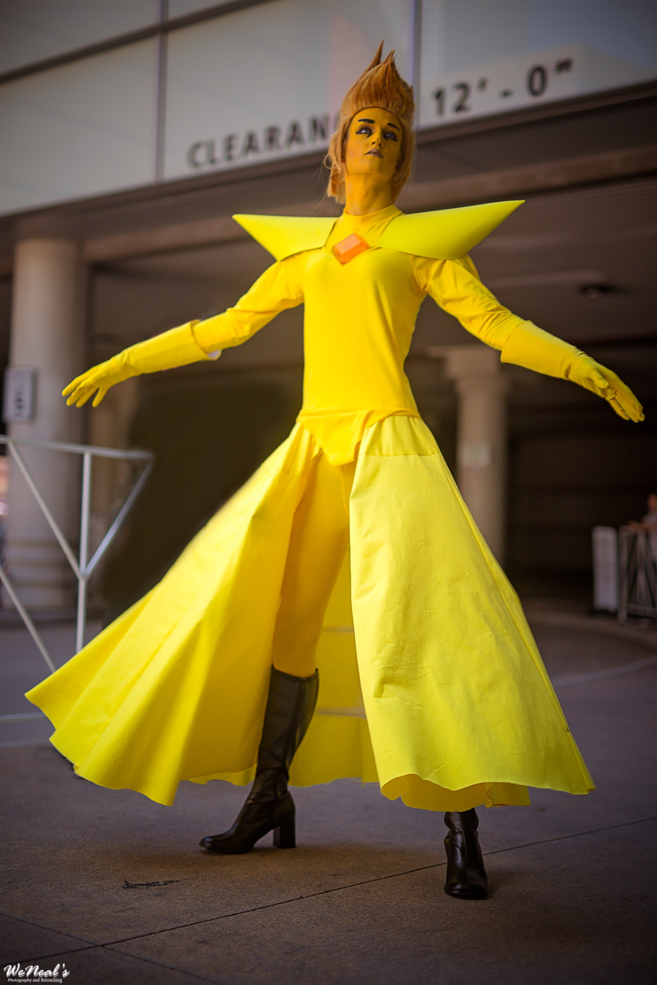 Yellow Diamond - Steven Universe Cosplay - Sperocor Photographer - WeNeal's Photography and Retouching
