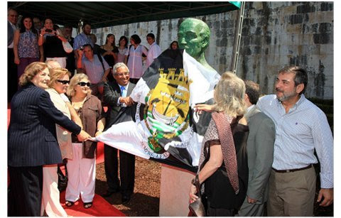Câmara Municipal de Lisboa - Descerramento do busto de Tito de Morais