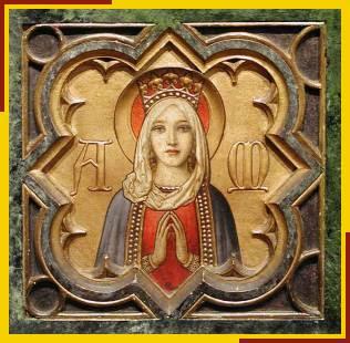 Altar panel by Henry Victor Milner