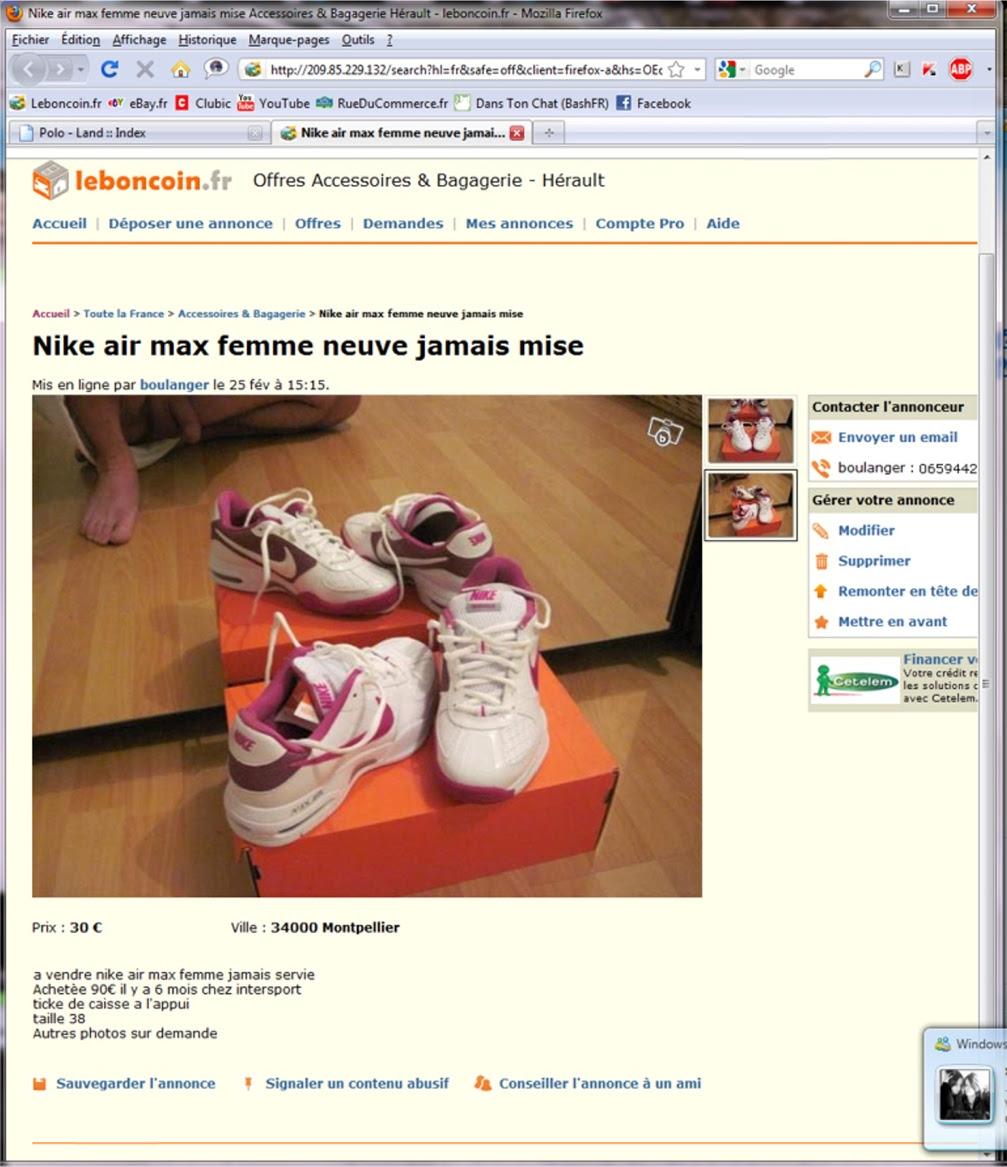 Nike Air Max Femme Neuve Jamais Mise Leboncoin