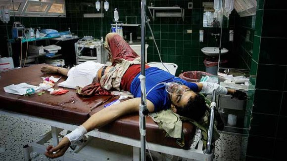 heridos en libia