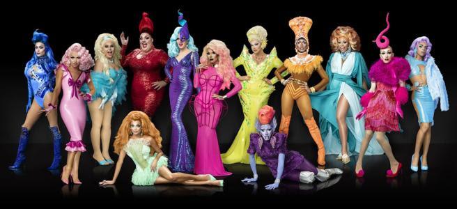 Concursantes de la novena temporada de 'RuPaul's Drag Race'