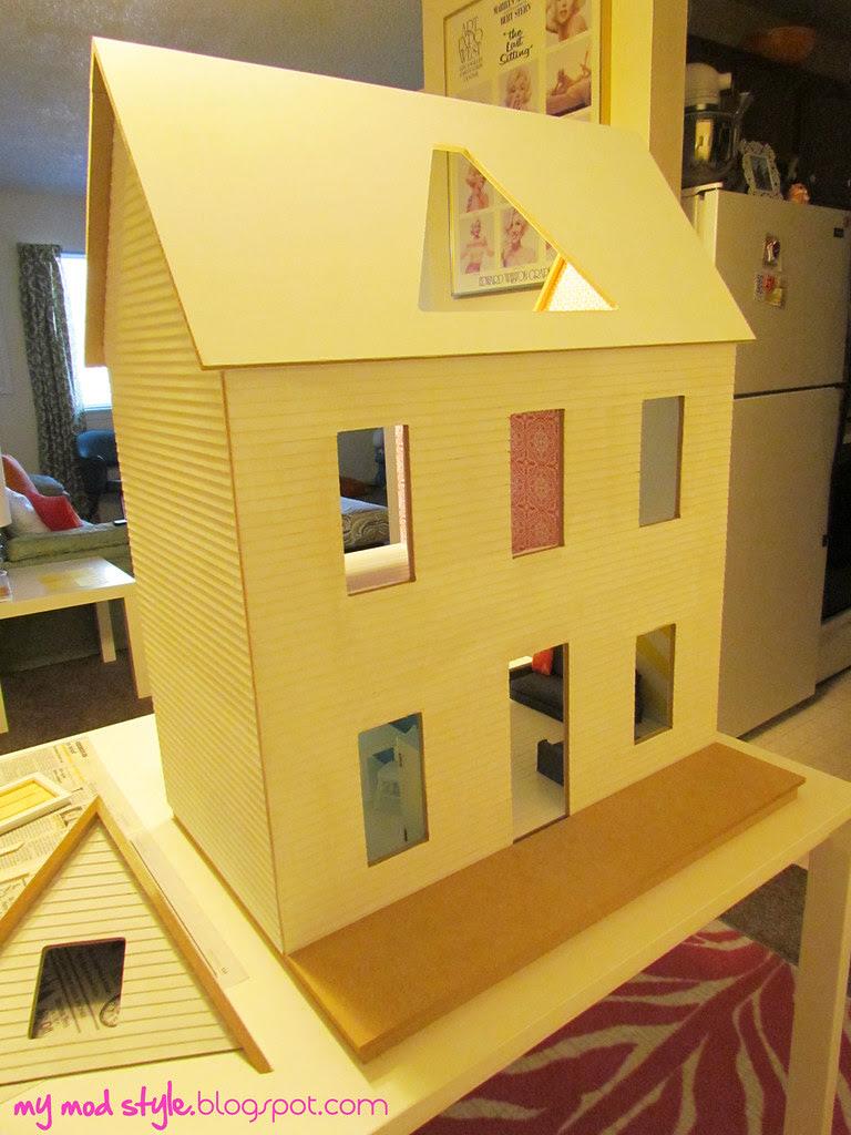 My Dollhouse Primed - Oct 2011