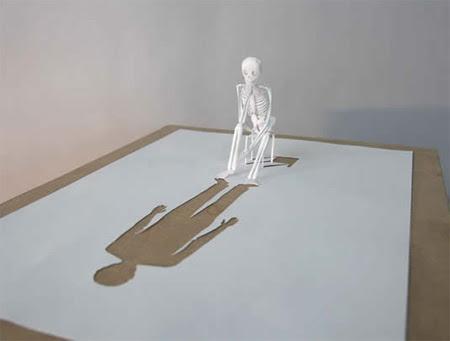 Paper Cut Sculptures by Peter Callesen 3