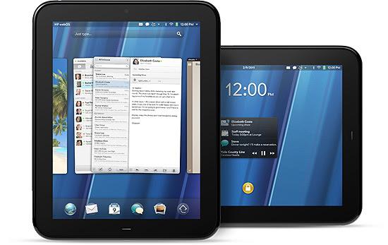 TouchPad, tablet da HP com sistema webOS, desenvolvido pela Palm, empresa adquirida em abril de 2010