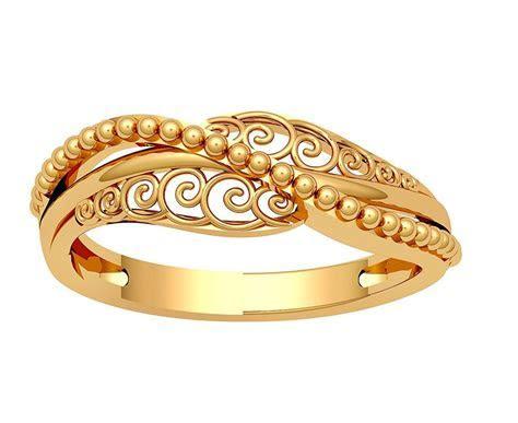 JewelOne 22k (916) Yellow Gold The Nerina Ring: Amazon.in
