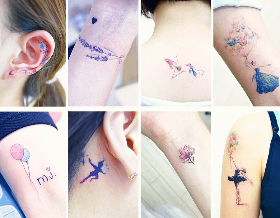 50 Absolutely Cute Small Tattoos For Girls With Their Meanings
