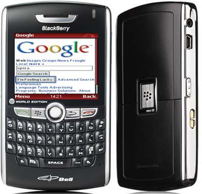 Opera Mini появилась в BlackBerry App World