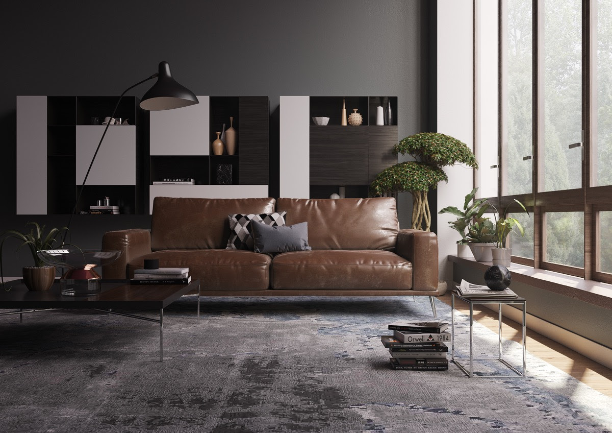 Living Rooms With Brown Sofas: Tips & Inspiration For ...