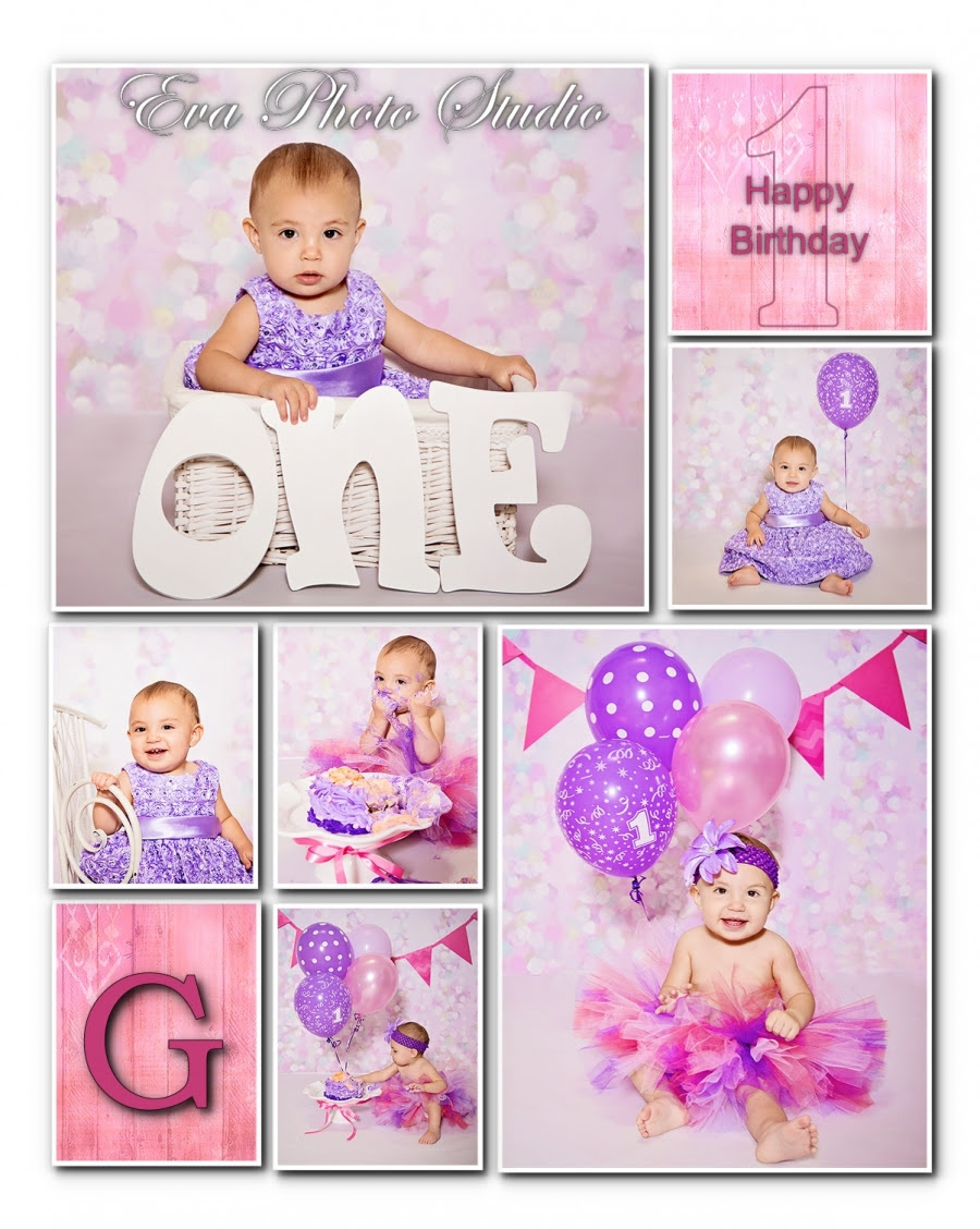 New Port Richey Baby Photographer 1 Year Old Birthday Session