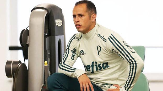 Guerra durante treino do Palmeiras