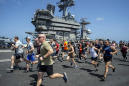 Dodging virus, Navy ships break record for staying at sea