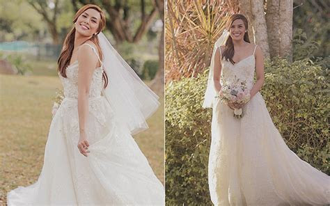 Pinoy Celebrity Wedding Gowns   DUBAI FORUM