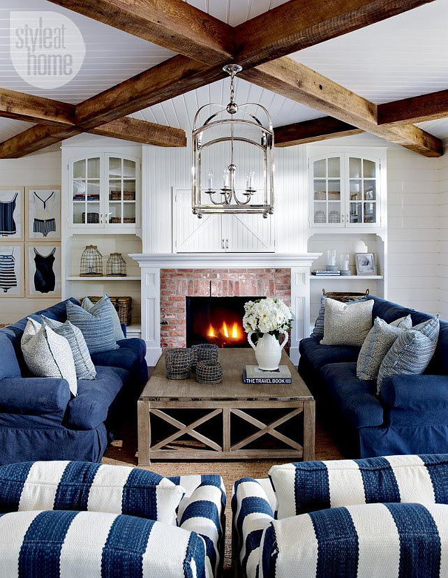 Living Room. East Coast Inspired Living Room. Coastal Living Room Decorating Ideas. Coastal Living Room Furniture. #LivingRoom #CoastalLivingRoom #LivingRoomFurniture #LivingRoomDecor #LivingRoomlayout
