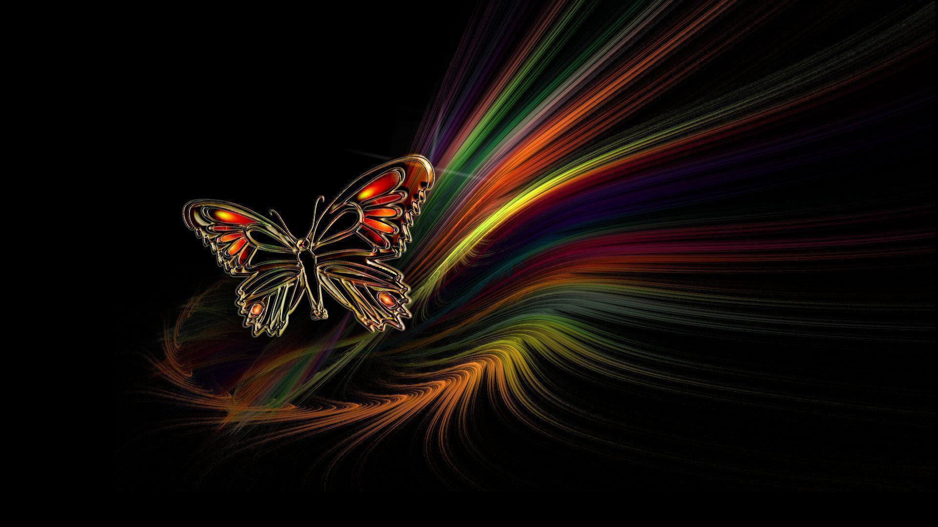 Butterfly Black Backgrounds - Wallpaper Cave