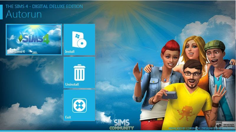Screen Shot Of The Sims 4 (2014) Full PC Game Free Download At worldfree4u.com