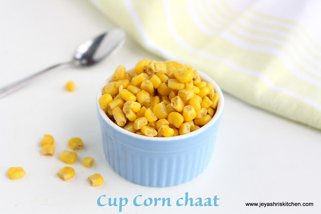 Cup Corn chaat 1