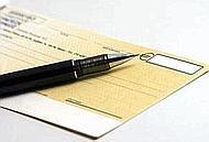 Assegno in bianco