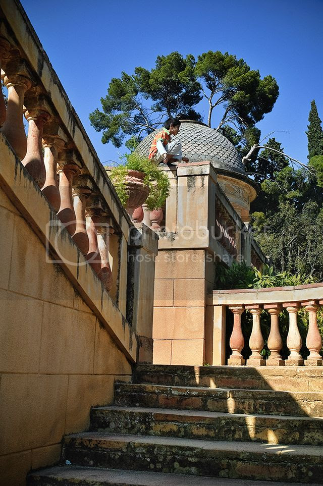 Horta's Labyrinth or Parc del Laberint d'Horta, Barcelona, Spain [enlarge]