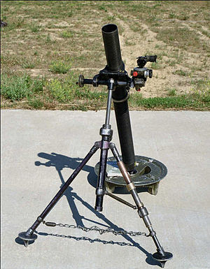 English: M29 81mm mortar