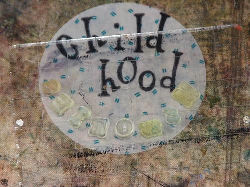 Art Journal #7  Childhood Memories 002