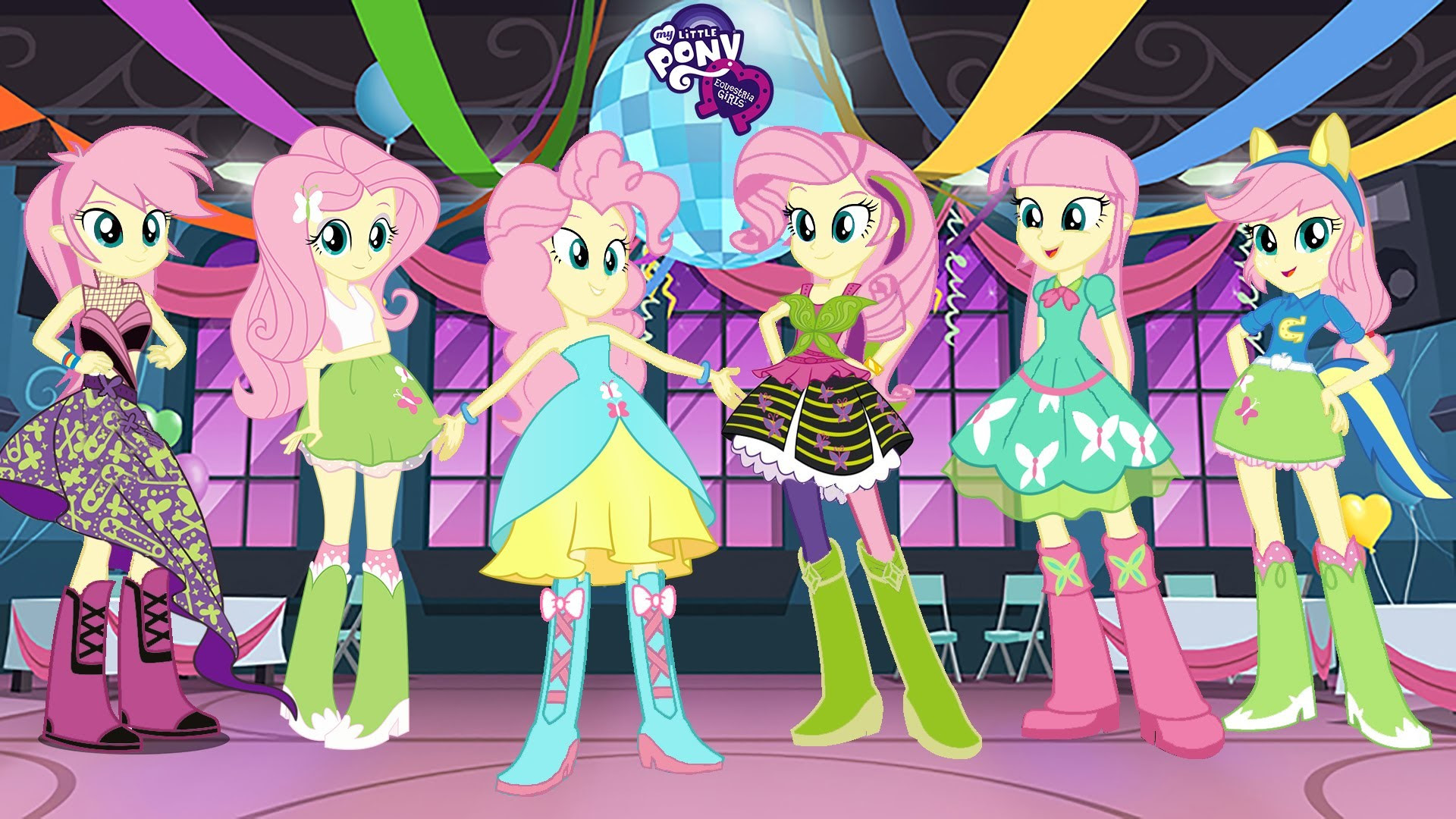 My Little Pony Equestria Girls Blondeprincess Pinkmare And