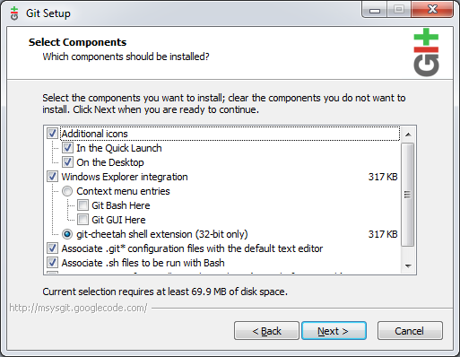 tutorials point : How to Install GIT for Windows and Create