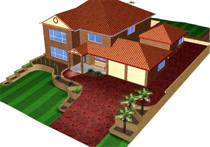 MMD Sketchup House 01