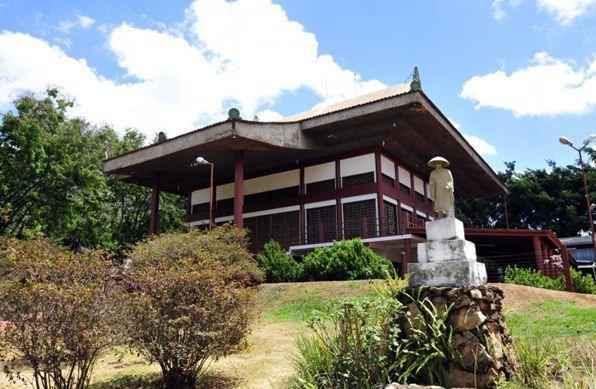 Templo Budista, na Superquadra 315/316 Sul - Ed Alves/CB/D.A Press