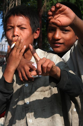Young rebels - Pokhara, Nepal
