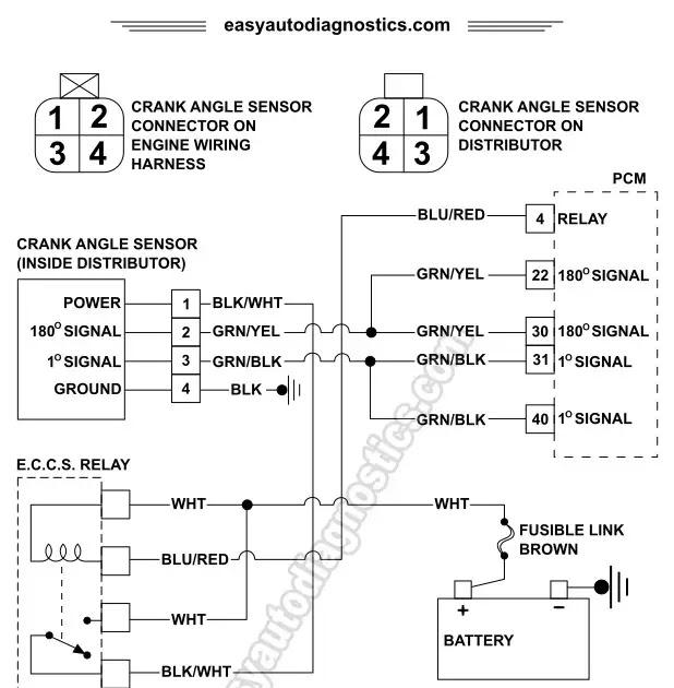 1997 Nissan Pickup Distributor Diagram - automotive wallpaper