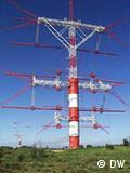 Antena rotativa em Sines