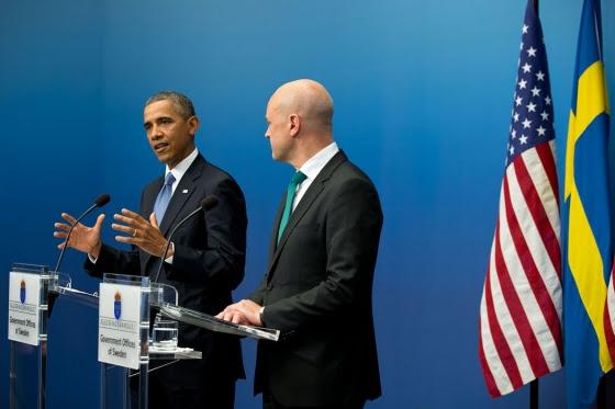 President Obama & PM Reingeldt
