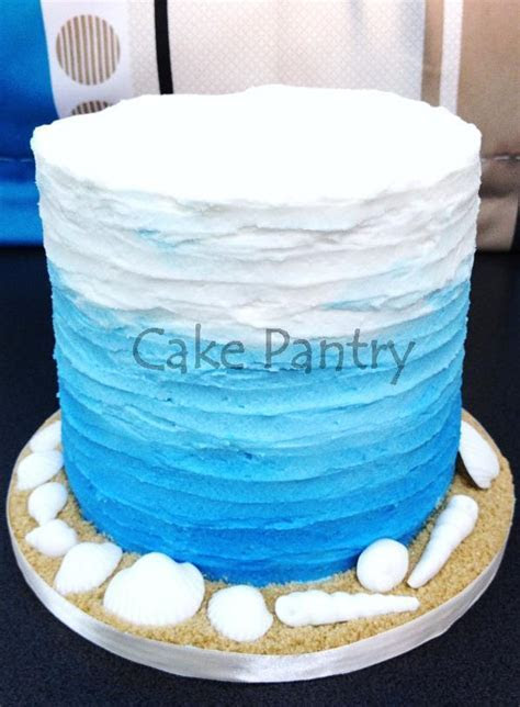 blue ombre cake / Cake Pantry