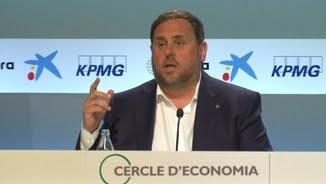Oriol Junqueras al Cercle d'Economia de Sitges